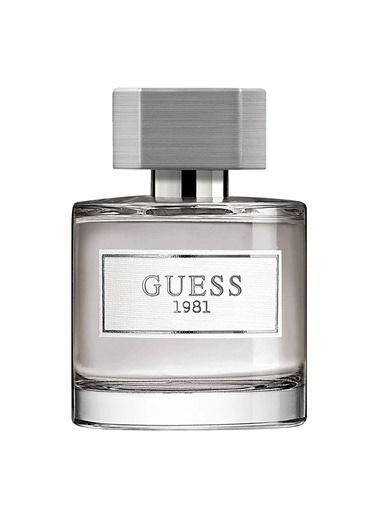 Guess Guess 1981 EDT 50 ML Erkek Parfüm Renksiz
